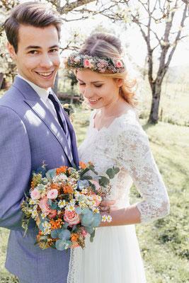 Bunte Boho Hochzeit Heimathochzeit