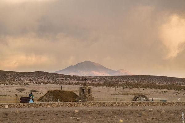 Kirche in der Nähe von Uyuni, Bolivien