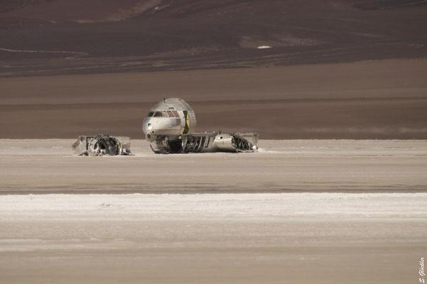 In den 1960er Jahren musste ein Flugzeug in der Laguna Brava notlanden