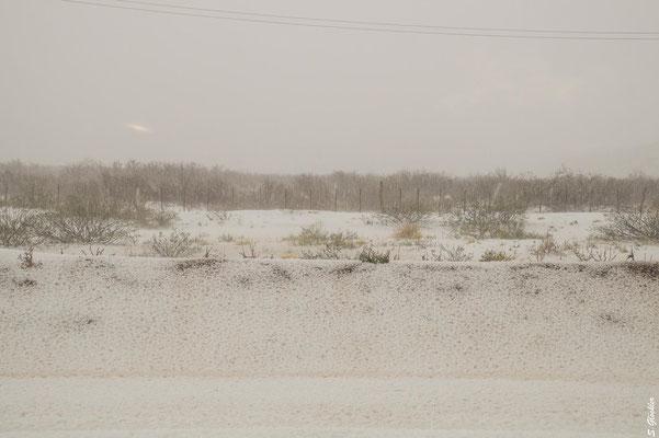 Plötzlicher Wintereinbruch im Hochsommer