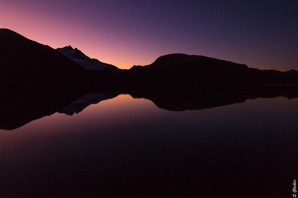 Sonnenaufgang an der Laguna Ilón