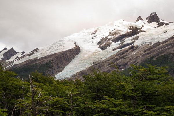 Gletscher am Lago del Desierto