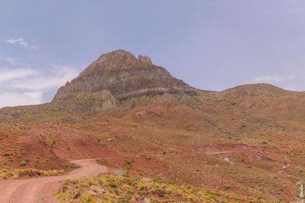 Der Weg zum Cajón Grande - an trockenen Tagen auch mit dem normalen PKW befahrbar.