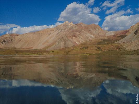 Lagune im Valle Hermoso