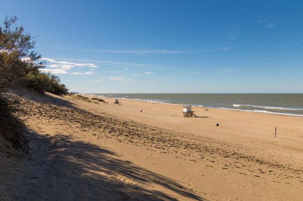 Strand in Mar de las Pampas, Provinz Buenos Aires