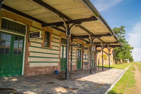 Ehemaliger Bahnhof von Santo Domingo, Provinz Buenos Aires