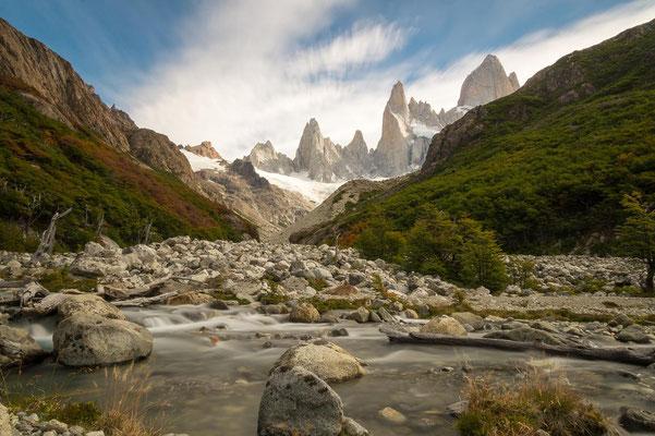 Alternative Wanderung zur Laguna Sucia (KEIN offizieller Wanderweg, sollte mit der Nationalparkverwaltung abgesprochen werden)