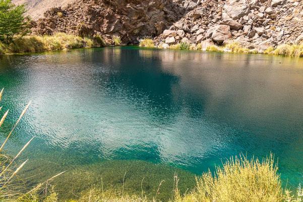 Laguna de la niña encantada, Provinz Mendoza