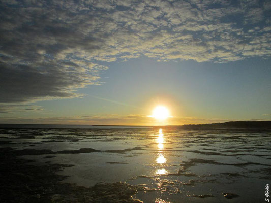 Sonnenuntergang, Punta Pardelas