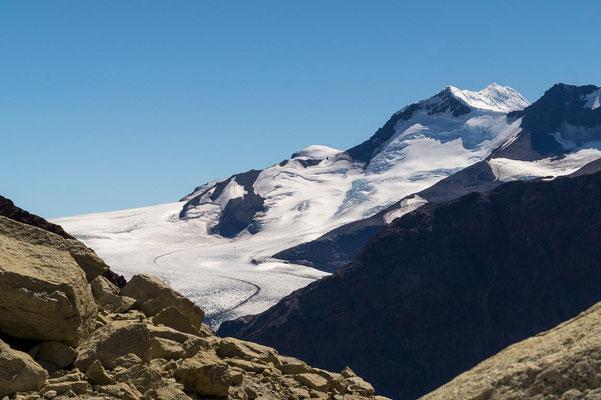 Blick auf das Südliche Patagonische Eisfeld
