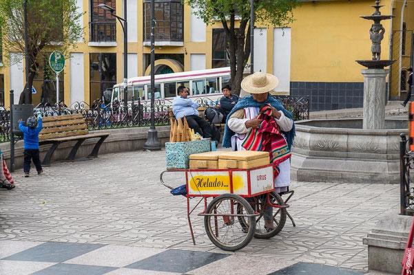 In den Straßen von Potosí