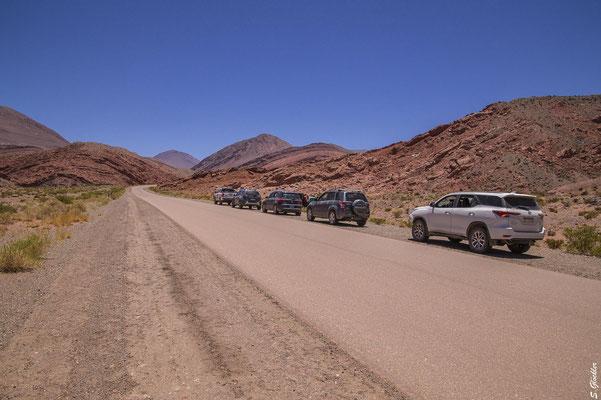 Unterwegs in der Quebrada de la Troya