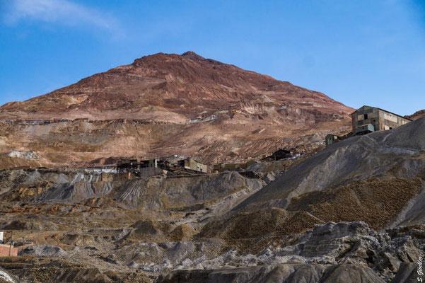 Blick auf den Cerro Rico, Potosí