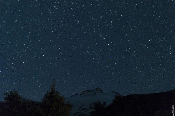 Sternenhimmel über dem Cerro Tronador