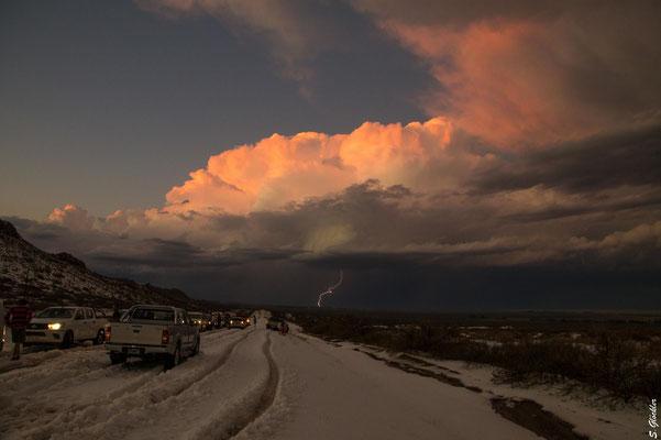 Hagel, Schnee, Gewitter im Januar