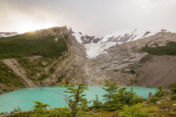 Laguna & Gletscher Huemul