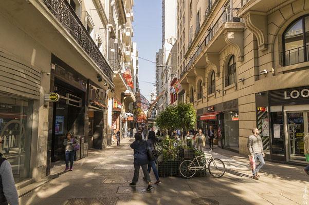Einkaufsstraße Florida im Zentrum von Buenos Aires