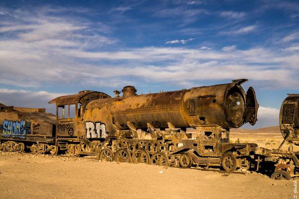 Ein Friedhof für Züge: Cementerio de los Trenes, Bolivien