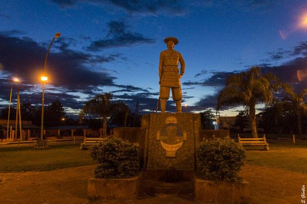 Gaucho-Denkmal in Mercedes, Provinz Corrientes