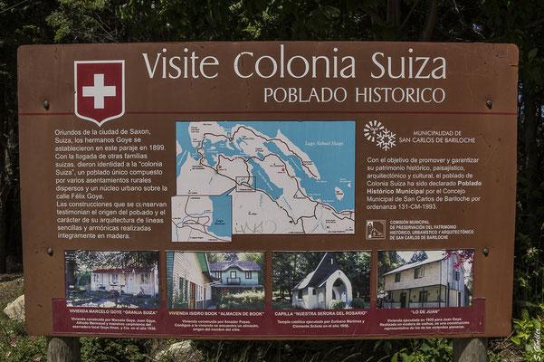 Colonia Suiza ist ein beliebtes Ziel für Tagesausflüge.