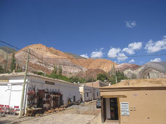 Purmamarca & der Cerro de los Siete Colores (Berg der sieben Farben)