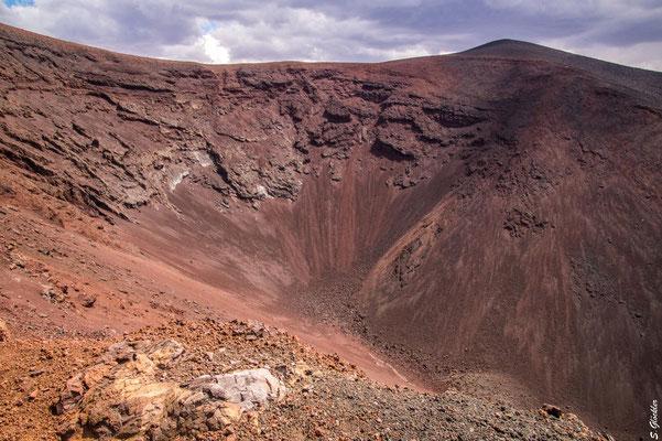 Krater des Vulkan Morado