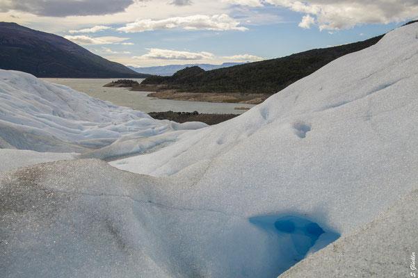 Perito Moreno Gletscher - eine Sinfonie aus Blau & Weiß
