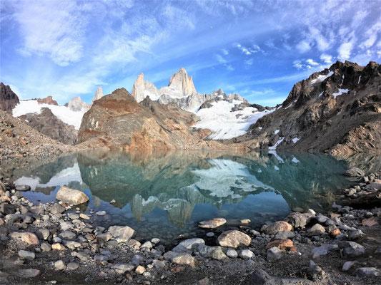 Laguna de los Tres, eines der beliebtesten Wanderziele in Chaltén