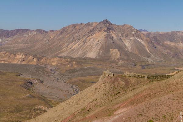 Blick ins Valle Hermoso vom Mirador