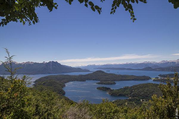Blick über den Nahuel Huapi See