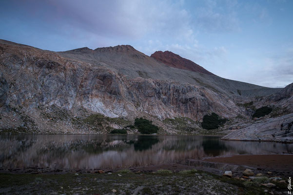 Laguna Cretón und Cerro Bonete