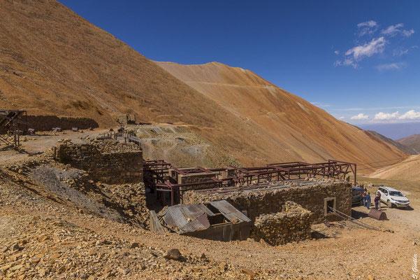 Ehemaliges Bergwerk La Mejicana auf 4000 Metern Höhe