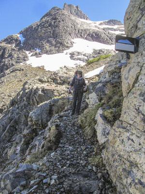 Unterwegs auf dem Fernwanderweg Huella Andina