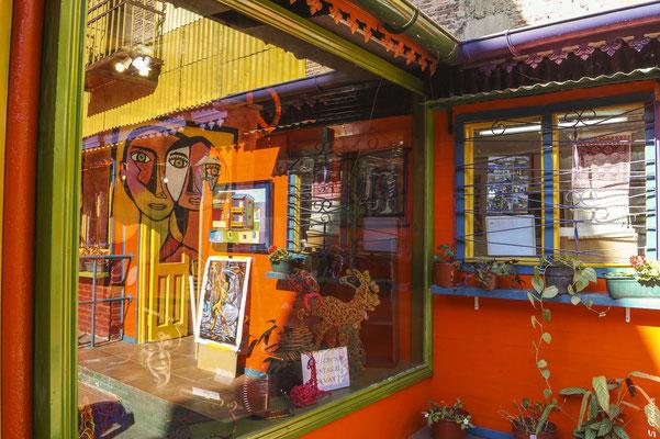 Kunstgalerie in La Boca
