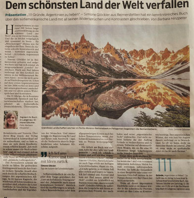 Zeitungsartikel in der Südwestpresse über mein Buch. Vielen Dank an Barbara Hinzpeter!