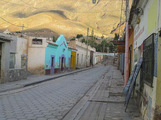 Tilcara in der Quebrada de Humahuaca, Provinz Jujuy