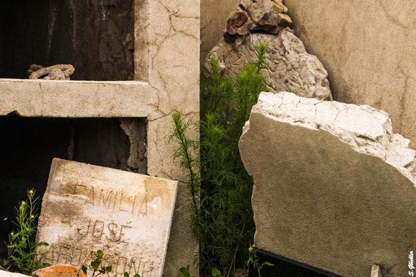Ehemaliger Friedhof von Carhué