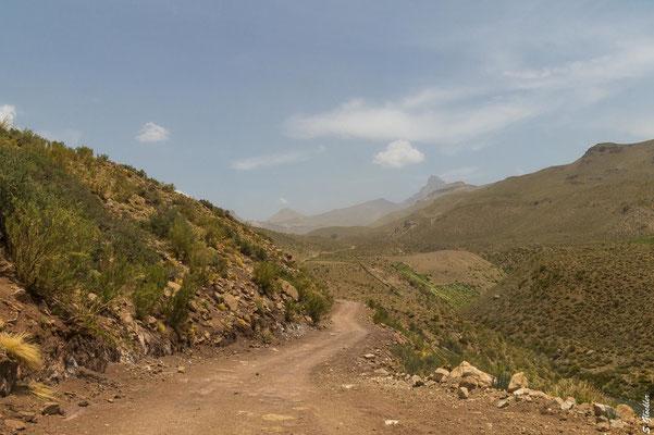 Auf dem Weg zum Cajón Grande im Süden der Provinz Mendoza.