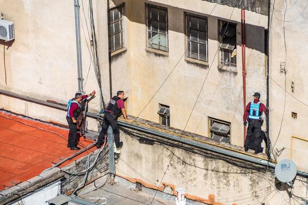 Besser als Netflix: Verfolgungsjagd über den Dächern von Buenos Aires