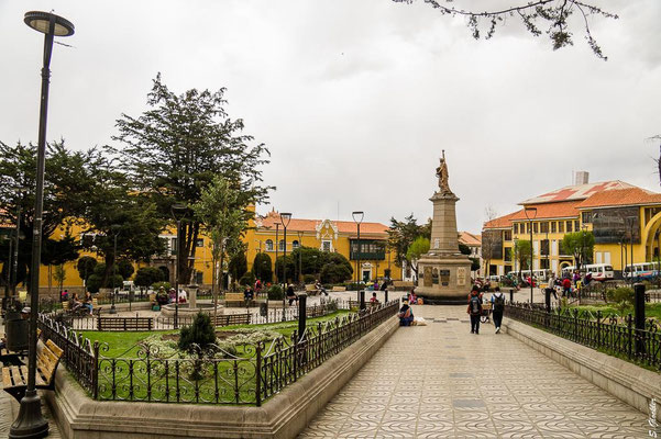 Plaza 10 de Noviembre, Potosí