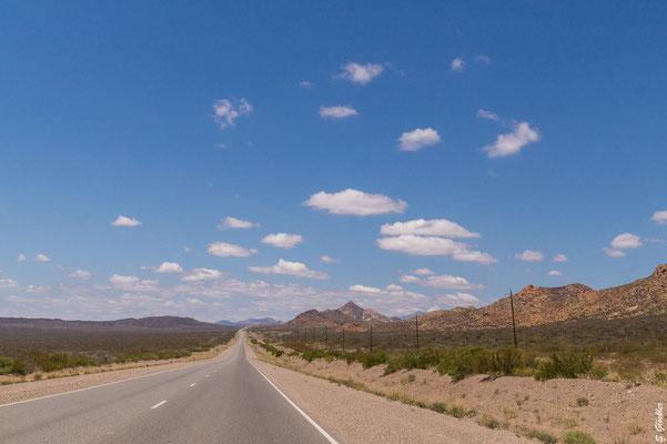 Auf der Ruta Nacional 40 unterwegs nach Malargüe, Mendoza.