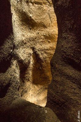 Im Innern des Vulkans Malacara