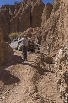 Quebrada del Yeso - abenteuerliche Wege