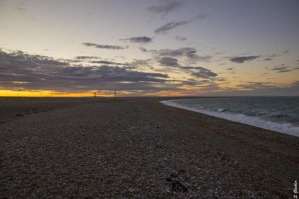der Strand von Cabo Raso