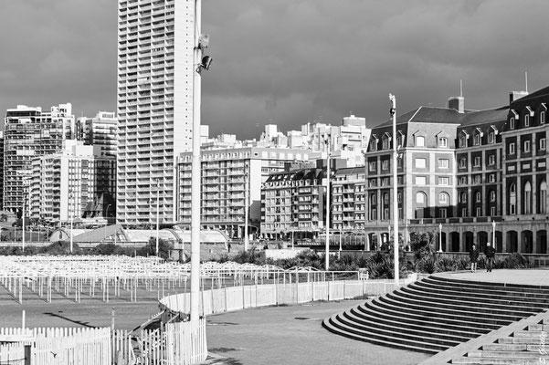 Das Zentrum von Mar del Plata