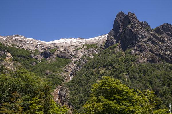 Aufstieg zum Refugio López