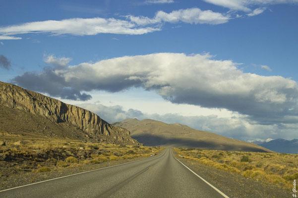 Fahrt von El Calafate zum Perito Moreno Gletscher