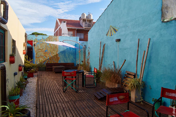 Unser Hostel in Mar del Plata