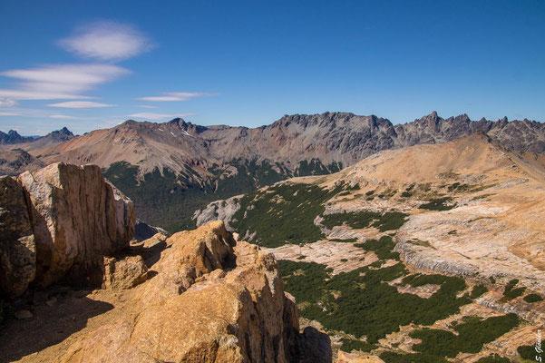 Panorama vom Cerro Cristal