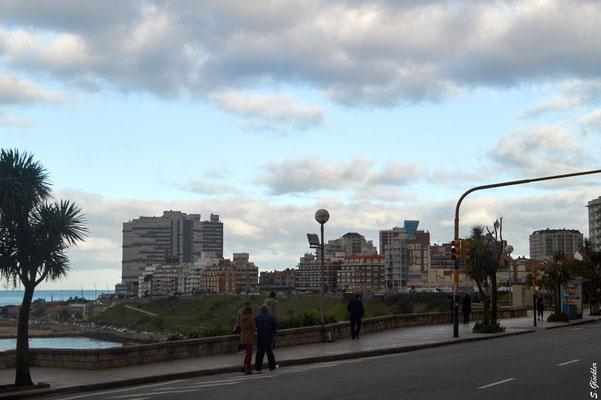 Blick aufs Zentrum von Mar del Plata